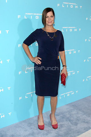 HOLLYWOOD, CA - OCTOBER 23: Marcia Gay Harden at the Los Angeles premiere of 'Flight' at ArcLight Cinemas on October 23, 2012 in Hollywood, California. © mpi21/MediaPunch Inc.