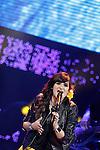 Spanish singer Rozalen during the Cadena Dial Awards 2014. March 7, 2014. (ALTERPHOTOS/Acero)