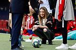 Alice Campello, wife of Atletico de Madrid's Alvaro Morata before La Liga match. Mar 07, 2020. (ALTERPHOTOS/Manu R.B.)