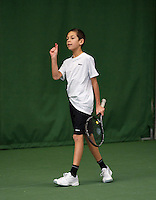 20131201,Netherlands, Almere,  National Tennis Center, Tennis, Winter Youth Circuit,  Jay Zwinkels  <br /> Photo: Henk Koster