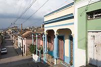Cuba, an der Treppe Padre Pico in Santiagode Cuba