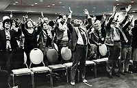 1978<br />  FILE PHOTO - ARCHIVES -<br /> <br /> Faithful join Ralph Marinacci in praying for a miracle<br /> <br /> Bezant, Graham<br /> Picture, 1978<br /> <br /> 1978<br /> <br /> PHOTO : Graham Bezant - Toronto Star Archives - AQP