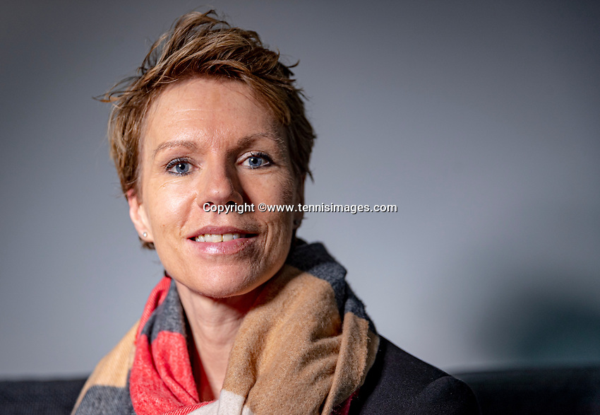 Netherlands, Januari 15,  2021, Woerden, Esther Vergeer (NED)<br /> Photo: Henk Koster/tennisimages.com