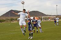 2010 US Soccer Development Academy Winter Showcase U15/16 Minnesota Thunder Academy vs NYRB at Reach 11 Soccer Complex in Phoenix, Arizona in December of  2010.