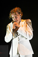 LONDON, ENGLAND - OCTOBER 7: Ane Brun performing at Shepherd's Bush Empire, London on October 7, 2021<br /> CAP/MAR<br /> ©MAR/Capital Pictures