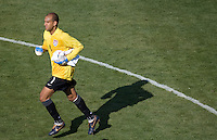 USA goalkeeper Tim Howard. The USA defeated China, 4-1, in an international friendly at Spartan Stadium, San Jose, CA on June 2, 2007.