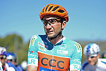 Race leader Davide Rebellin (ITA) CCC Sprandi Polkowice before the start of Stage 5 of the 2015 Presidential Tour of Turkey running 159.9km from Mugla to Pamukkale. 30th April 2015.<br /> Photo: Tour of Turkey/Mario Stiehl/www.newsfile.ie