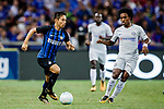 FC Internazionale Defender Yuto Nagatomo (L) plays against Chelsea Midfielder Willian da Silva (R) during the International Champions Cup 2017 match between FC Internazionale and Chelsea FC on July 29, 2017 in Singapore. Photo by Marcio Rodrigo Machado / Power Sport Images