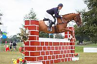 NZL-Donna Edwards-Smith (CLUNY) FINAL-6TH: Prestige Equestrian Ltd CIC1* (7-8-9 YO) SHOW JUMPING: 2016 NZL-Kihikihi International Horse Trial (Sunday 10 April) CREDIT: Libby Law COPYRIGHT: LIBBY LAW PHOTOGRAPHY