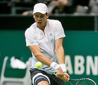 10-02-14, Netherlands,Rotterdam,Ahoy, ABNAMROWTT,, , Tomas Berdych(CZE)<br /> Photo:Tennisimages/Henk Koster