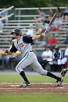 July 7th 2008:  Matthew Payne of the State College Spikes, Class-A affiliate of the Pittsburgh Pirates, during a game at Damaschke Field in Oneonta, NY.  Photo by:  Mike Janes/Four Seam Images