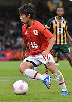 July 31, 2012..Japan's Mana Iwabuchi (16) in action during Group F Football match between JPN and RSA at the Millennium Stadium on day four of 2012 Olympic Games in Cardiff, United Kingdom...