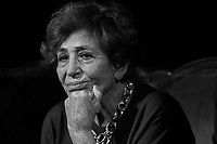 Luciana Castellina, Journalist, Politician & Author.<br />