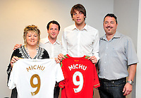 Swansea city fc sponsor awards... saturday 19th may 2013...<br /> <br /> Michu