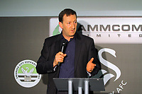 Pictured: Chairman Huw Jenkins. Thursday 10 May 2012<br /> Re: Swansea City FC awards dinner at the Liberty Stadium.