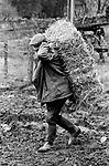 Upper Slaughter, Gloucestershire 1975 UK. Mr Kenneth Pugh.