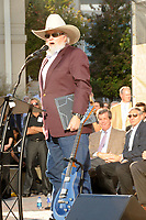 06 July 2020 - Country music and southern rock legend Charlie Daniels has passed away after suffering a stroke. The Grand Ole Opry member and Country Music Hall of Famer was 83. File Photo: November 8, 2009 - Nashville, TN - Charlie Daniels at the 2009 Music City Walk of Fame inductions held  at Hall of Fame Park in downtown Nashville.<br /> Photo Credit: Mike Strasinger/AdMedia