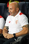 Sevilla FC's coach Jorge Sampaoli during Supercup of Spain 2nd match.August 17,2016. (ALTERPHOTOS/Acero)