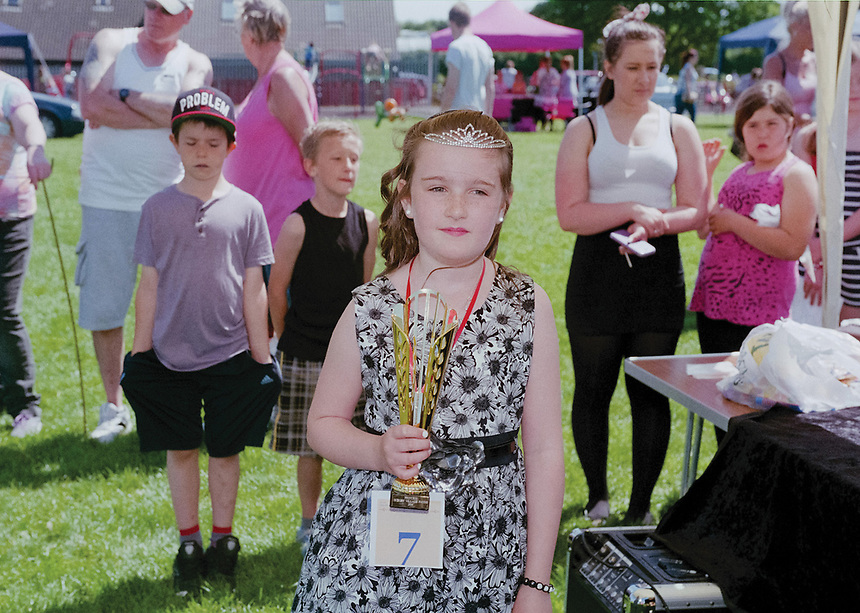 """May Princess of Skegby, Jasmine Hannant.<br /> <br /> """"Community-minded residents in Skegby are organising a village fair to try and re-ignite some of its lost community spirit."""""""