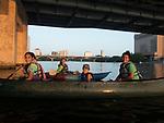 43 Sophia teaching paddling