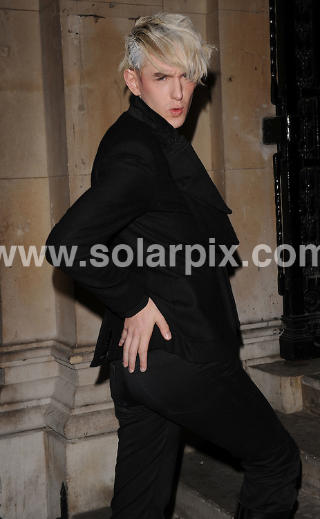 **ALL ROUND EXCLUSIVE PICTURES FROM SOLARPIX.COM**.**WORLDWIDE SYNDICATION RIGHTS**.Outside arrivals at the On_Off  Party, London Fashion Week's off-schedule designer initiative celebrating its 10th anniversary. The event also plays host to charity auction of exclusive beach huts designed by Guinness, Dixon and Geldof.  Held at the Royal Academy of Arts, London, UK.  Monday September 15, 2008...This pic: Patrick Wolf..JOB REF: 7352 SSD     DATE: 15_09_2008.**MUST CREDIT SOLARPIX.COM OR DOUBLE FEE WILL BE CHARGED* *UNDER NO CIRCUMSTANCES IS THIS IMAGE TO BE REPRODUCED FOR ANY ONLINE EDITION WITHOUT PRIOR PERMISSION*