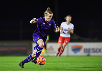 Laura Deloose (14) of Anderlecht pictured during a female soccer game between RSC Anderlecht Dames and SV Zulte Waregem on the 10 th matchday of the 2020 - 2021 season of Belgian Womens Super League , friday 18 th of December 2020  in Tubize , Belgium . PHOTO SPORTPIX.BE | SPP | DAVID CATRY
