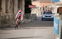 Ilnur Zakarin (RUS/Katusha-Alpecin)<br /> <br /> Stage 5 (ITT): Barbentane to Barbentane (25km)<br /> 77th Paris - Nice 2019 (2.UWT)<br /> <br /> ©kramon