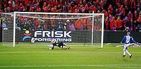 Oslo, 20091108. Cupfinalen, Molde-Aalesund. Brent straffe.