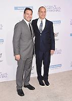 BRENTWOOD, CA - JUNE 11: Executive producer/Honoree Hank Steinberg (L) and Founder & CEO of AwesomenessTV/Honoree Brian Robbins (R) arrive at the 15th Annual Chrysalis Butterfly Ball at a private residence on June 11, 2016 in Brentwood, California.