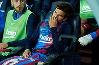 20th September 2021; Nou Camp, Barcelona, Spain; La Liga football league, FC Barcelona versus Granada CF;  Riqui Puig of FC Barcelona started on the bench during the Liga match between FC Barcelona and Granada CF .