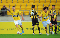 101113 A-League Football - Phoenix v Mariners