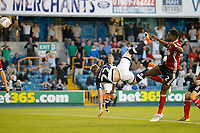 GOAL - Millwall's Aiden O'Brien equalises during the Sky Bet Championship match between Millwall and Ipswich Town at The Den, London, England on 15 August 2017. Photo by Carlton Myrie.