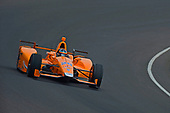 Verizon IndyCar Series<br /> Fernando Alonso Test for Indianapolis 500<br /> Indianapolis Motor Speedway, Indianapolis, IN USA<br /> Wednesday 3 May 2017<br /> Fernando Alonso turns his first career laps on an oval in preparation for his Indianapolis 500 debut.<br /> World Copyright: F. Peirce Williams<br /> LAT Images