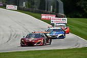 IMSA WeatherTech SportsCar Championship<br /> Continental Tire Road Race Showcase<br /> Road America, Elkhart Lake, WI USA<br /> Sunday 6 August 2017<br /> /w86, 93, Acura, Acura NSX, GTD, Andy Lally, Katherine Legge<br /> World Copyright: Richard Dole<br /> LAT Images<br /> ref: Digital Image RD_RA_2017_183