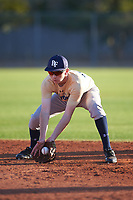 Jacob Dressler (47), from San Jose, California, while playing for the Brewers during the Under Armour Baseball Factory Recruiting Classic at Gene Autry Park on December 27, 2017 in Mesa, Arizona. (Zachary Lucy/Four Seam Images)