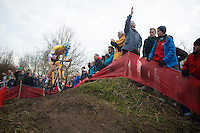 Tom Meeusen (BEL) leading the race<br /> <br /> Leuven Soudal Classic 2014