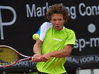 10-08-13, Netherlands, Rotterdam,  TV Victoria, Tennis, NJK 2013, National Junior Tennis Championships 2013,  Casper Bonapart, winner boys 16 years<br /> <br /> Photo: Henk Koster