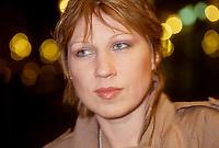 lPortrait de la chanteuse montrealaise d'origine alemande  EVA DIETRICH<br /> <br /> (date exacte inconnue) <br /> <br /> PHOTO :  Agence Quebec Presse