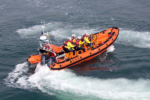 Helvick Head RNLI inshore lifeboat