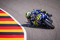 VALENTINO ROSSI - ITALIAN - MOVISTAR YAMAHA MotoGP - YAMAHA<br /> Sachsering 13-07-2018 Moto Gp Germania / Germany <br /> Foto Vincent Guignet / Panoramic / Insidefoto
