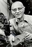 1979 FILE PHOTO - ARCHIVES -<br /> <br /> Sammy Scala has been a Beach shoemaker for 45 years. 'I got the best people here.'<br /> Bezant, Graham<br /> Picture, 1979,<br /> <br /> 1979,<br /> <br /> PHOTO : Graham Bezant - Toronto Star Archives - AQP
