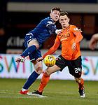 08.11.2019 Dundee v Dundee Utd: Jordan McGhee andvLawrence Shankland