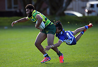 Action from the Auckland Colts club rugby union match between University and Mount Wellington at Colin Maiden Park in Auckland, New Zealand on Saturday, 25 July 2020. Photo: Dave Lintott / lintottphoto.co.nz