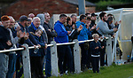 Pix Magi Haroun 26.08.2020<br /> <br /> REPORTER: Gideon Brooks:<br /> Pix shows the first crowd of 150 fans let in to watch Daisy Hill FC v Bury FC. Fans during the matching watching the action