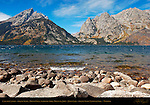 Cascade Canyon, Grand Teton, Mount Owen, Symmetry Spire, Mount St. John, Jenny Lake, Grand Teton National Park, Wyoming