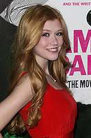 """LOS ANGELES, CA - FEBRUARY 04: Katherine McNamara at the Los Angeles Premiere Of The Weinstein Company's """"Vampire Academy"""" held at Regal Cinemas L.A. Live on February 4, 2014 in Los Angeles, California. (Photo by Xavier Collin/Celebrity Monitor)"""