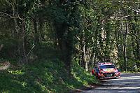 23rd April 2021; Zagreb, Croatia; WRC Rally of Croatia, stages 1-8;  Thierry Neuville - Hyundai I20 WRC