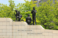 Ottawa (ON) CANADA - June 17 2012 - Canada's capital Ottawa-  War Monument...