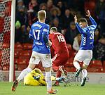 06.02.2019:Aberdeen v Rangers: Alan McGregor and Lewis Ferguson