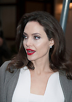 January 30 2O18, PARIS FRANCE<br /> Actress Angelina Jolie leaves the Hotel Meurice In Paris. # ANGELINA JOLIE A PARIS